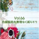 遊和ひと言置き薬 vol.66 内臓脂肪を無理なく減らそう ~2020年12月08日配信~